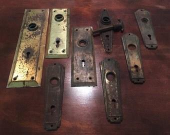 Assorted Vintage Escutcheon Plates