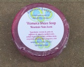 Women's Shaving Soap, Mountain Rain Scented Soap, Women's Shave Soap, Smooth Shave Soap