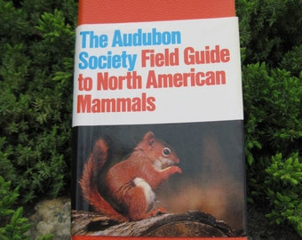 Vintage Audubon Society Field Guide to North American Mammals, 1988