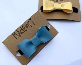 Boy Faux Leather Bow Ties
