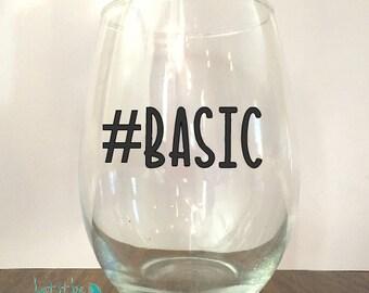 Basic-Funny Wine Glass