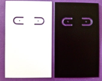 50 Earring Display / Holder Cards - Australian Seller