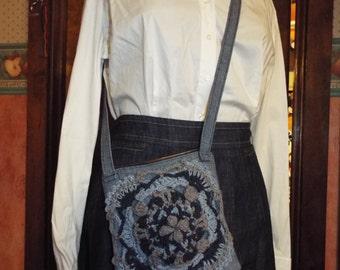 Blue Boho Bag