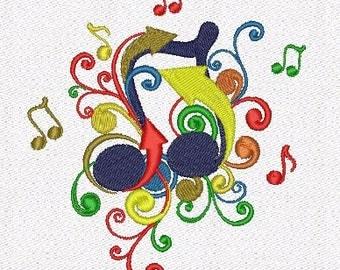 music machine embroidery designs