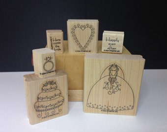 Happily Ever After Stamp Set (Set of 6), Retired, Stampin' Up