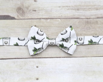 Derby Mint Julep Bow tie