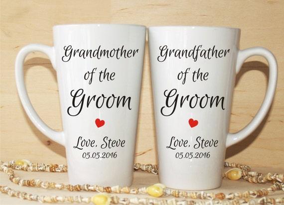 Grandmother Wedding Gift: Grandmother Of The Groom Gift-Grandfather Of The Groom