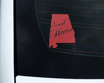 "4"" Sweet Home Alabama Decal"