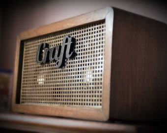 Hand made Bluetooth Amplifier Style Wood Vintage Speakers