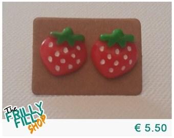 Cute Strawberry Earrings