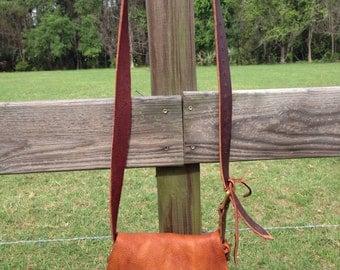 Custom leather hobo bags