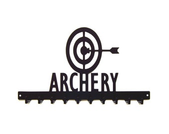 Free USA Shipping Archery Medals Display Rack 10 Hook