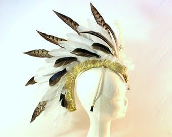White Feather Mohawk By ShapeShifters