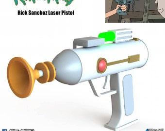PRE-ORDER Rick Sanchez Laser Pistol from Rick and Morty [Fan-art]