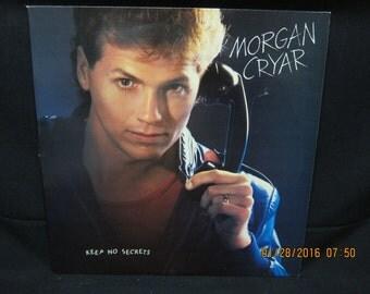 """Morgan Cryar """"Keep No Secrets"""" - Star Song Records (1984) ====LP"""
