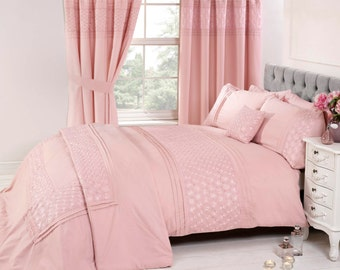 EVERDENE by Belle Maison, Duvet sets with available curtains, bedspread & cushions
