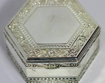 Silver Plated Jewellery/ Trinket Bpx