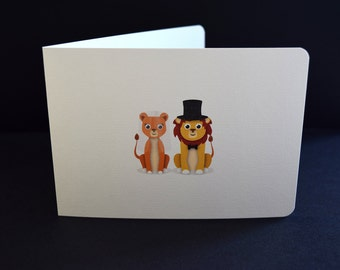 Engagement or Wedding Card