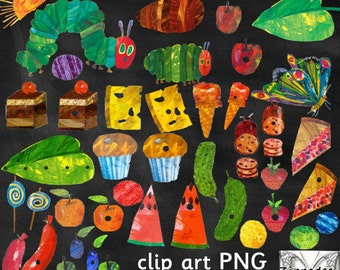 The Very Hungry Caterpillar Clipart