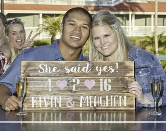 Proposal sign