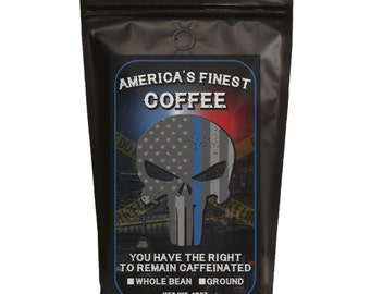 America's Finest Hand Roasted Coffee For Law Enforcement