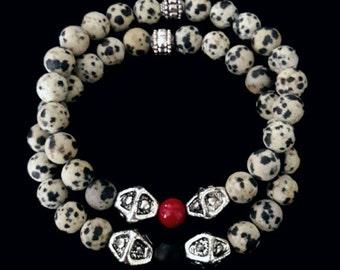 Handmade beaded bracelet set