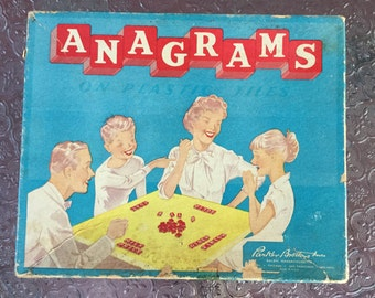 Vintage Anagrams Game