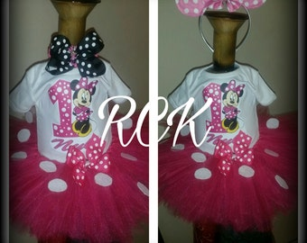 Minnie Mouse Tutu Sets