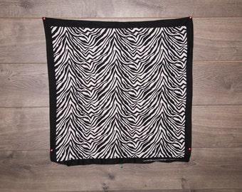 Vintage Zebra Bandana