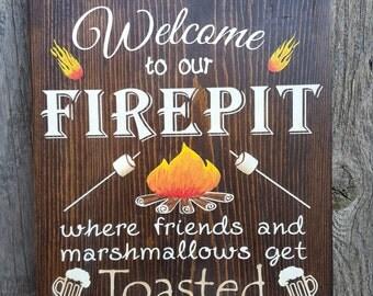 Fire Pit Etsy