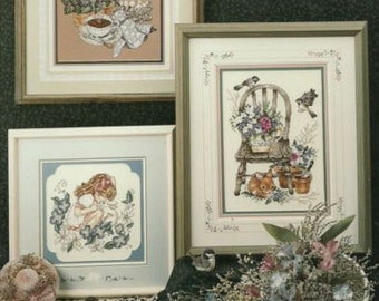 Counted Cross Stitch Patterns, Petals of Beauty, Stoney Creek Collection #89 Flowers, Garden,
