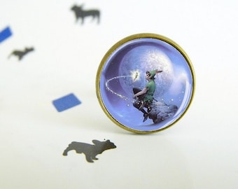 Peter Pan - Adjustable ring - Original gift