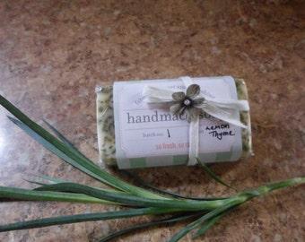Lemon Thyme Soap
