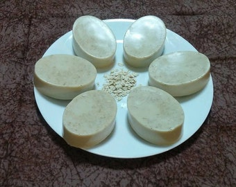 Goats Milk, Oatmeal and Honey Soap, Unscented