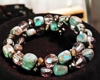Turquois memory bracelet
