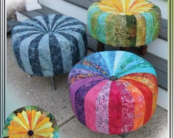 Quick and Cute Tuffets Pattern by Erin Underwood Quilts