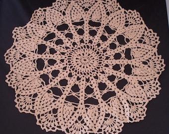 REDUCED crochet doily