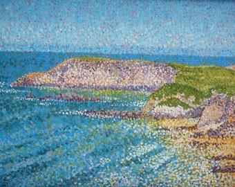 Pembrokeshire Coast - seascape painting