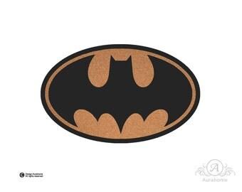 Junta Batman Cork - tablón de notas Organizador - decoraciones de pared - - Niños sitio de la decoración espacio para notas