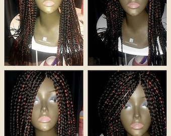 Hand made wig. Small medium braids