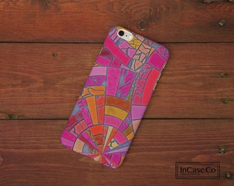 Pink Mosaic Phone Case. For iPhone Case, Samsung Case, LG Case, Nokia Case, Blackberry Case and More!