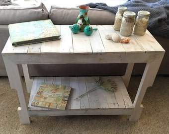 Pallet Sofa Table (Shipping Included)