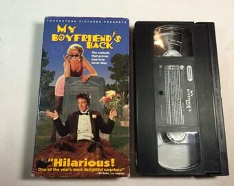 MY BOYFRIEND'S BACK- Andrew Lowery Traci Lind Philip Seymour Hoffman Vhs Pg-13  1993 85 mins