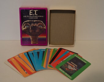 1982 E.T. Card Game