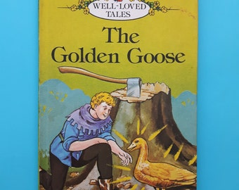 Vintage Ladybird Book The Golden Goose. Matt Hardback 60p net 1982/83