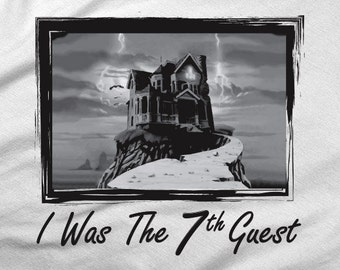 I Was The Seventh Guest - Gamer T-Shirt
