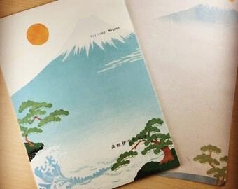 Premium Iyo-Washi Letter Paper - Fujiyama-