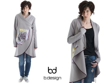Hand painted Cardigan for casual look