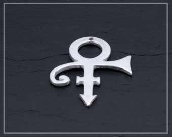 Prince Symbol, Prince Symbol Pendant, Prince Rogers Nelson, Prince Charm, Prince Jewelry