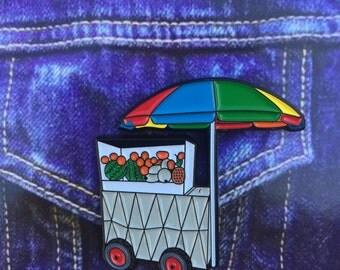 El Frutero Pin (Fruit Cart)
